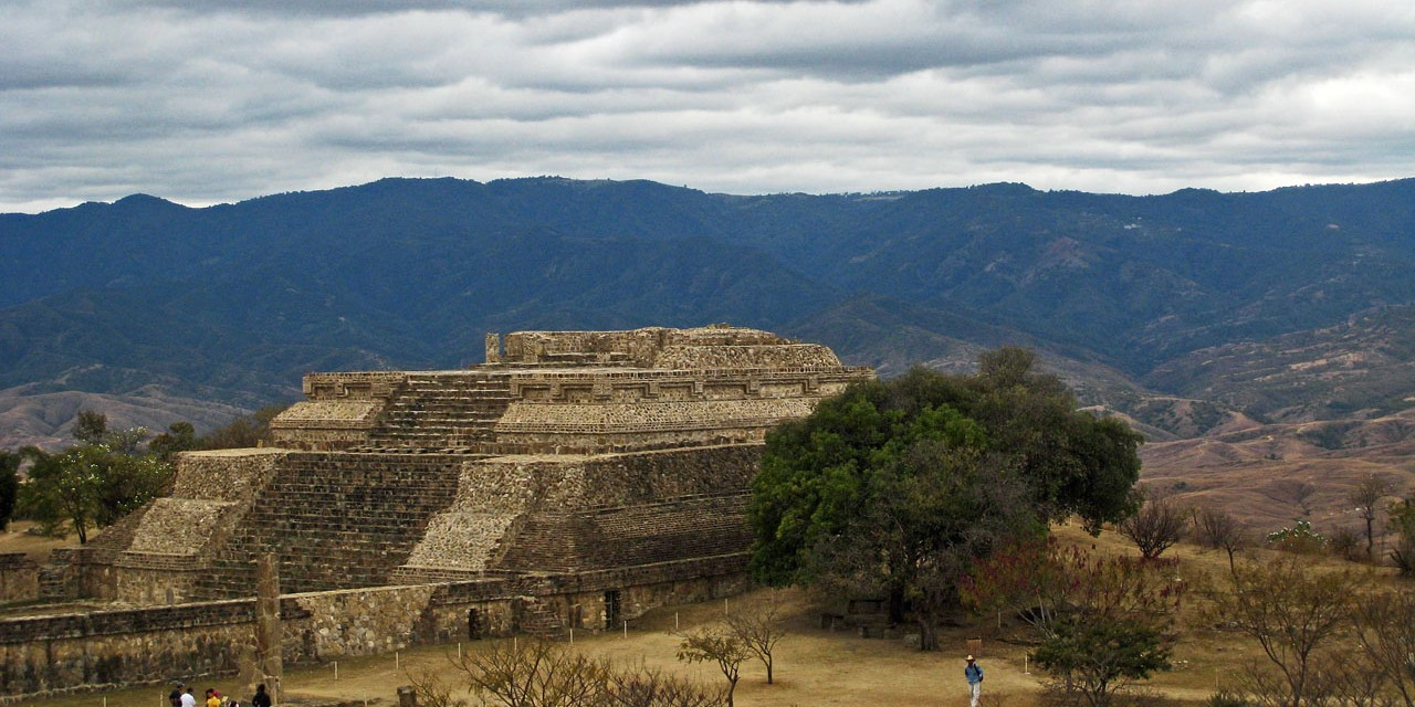 The Pyramids of Monte Alban