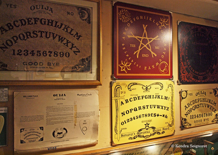 Speak with the dead at the Musem of Witchcraft and Magic, Cornwall