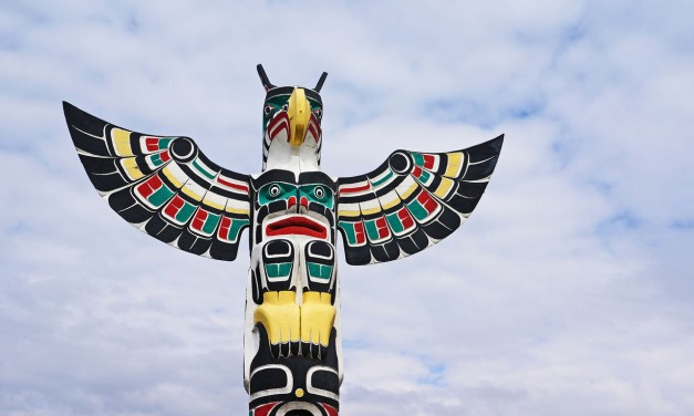 Totems and Randomosity in Duncan (Vancouver Island)