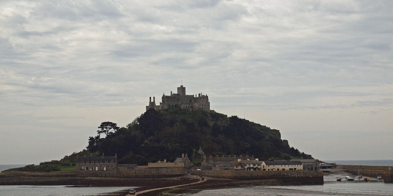 St  Michael's Mount - The English Version - Rusty Travel Trunk