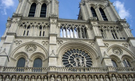 Three Famous Churches of Paris