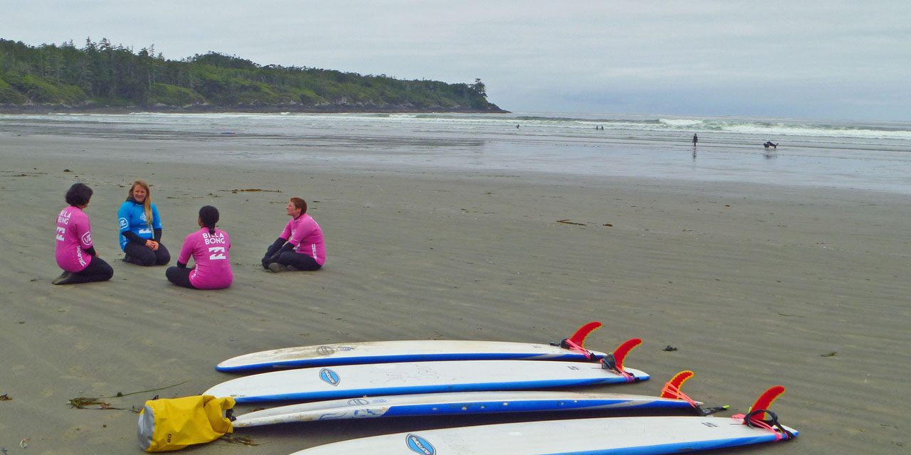 My First Surf Lesson – Vancouver Island