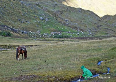 Alpaca Expeditions: porters and chef were amazing!