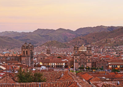 Cusco - red tiled roofs (2)