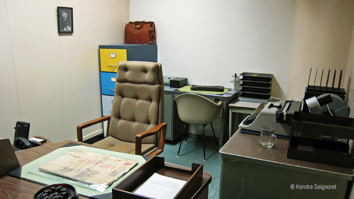 Diefenbunker - Prime Minister's office