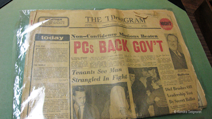 Diefenbunker - news of the day