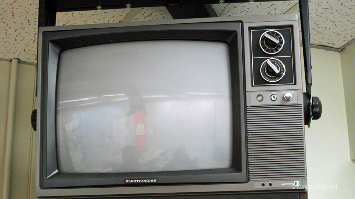 Diefenbunker - old school television