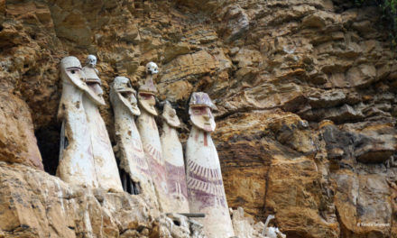 Hanging Out with the Dead: Karajia, Peru