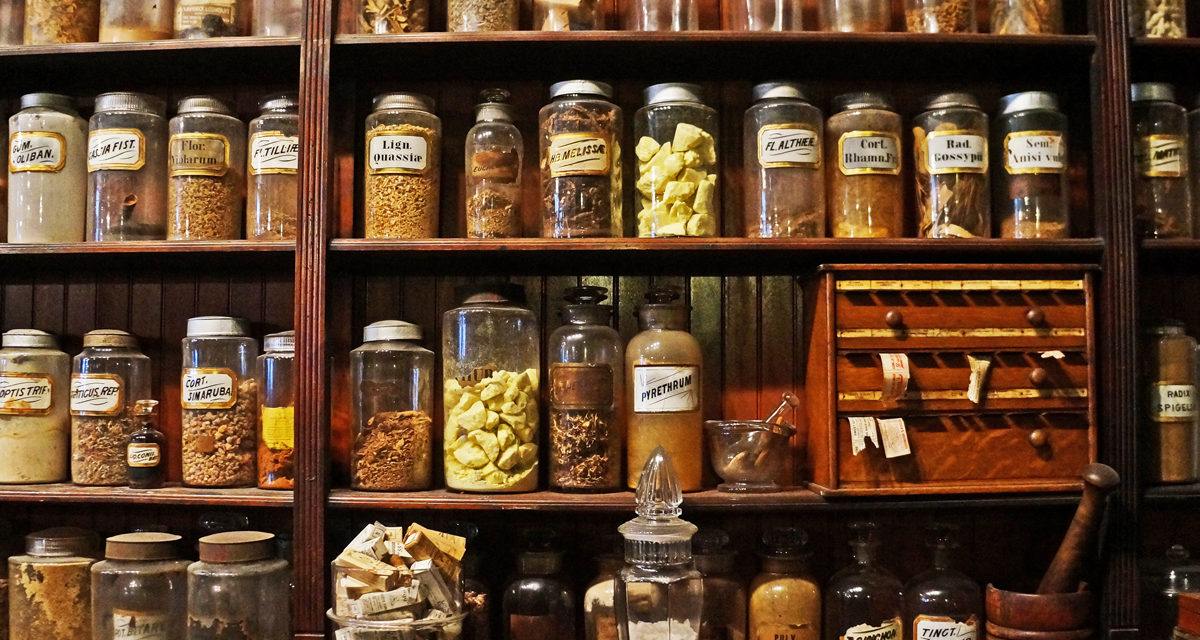 Leeches, Narcotics, and Potions: The New Orleans Pharmacy Museum