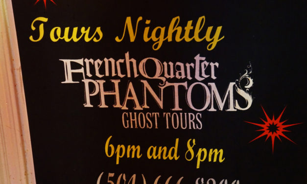 You Must Do a Ghost Tour in New Orleans!