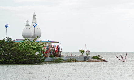 A Visit To A Temple In the Sea