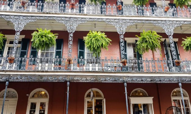 Check out the French Quarter in New Orleans!