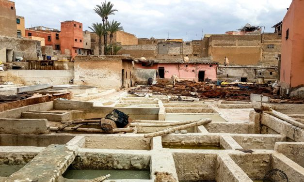 Visiting the Tanneries of Marrakesh – A Story