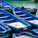 The Famous Blue Boats of Essaouira