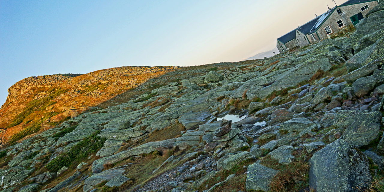 Trekking the Presidential Traverse: Day Two