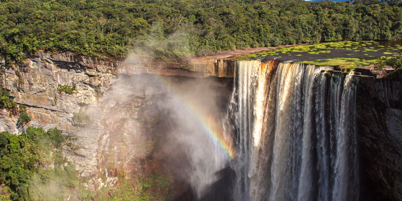 Visiting Kaieteur Falls should definitely be on your To Do List!