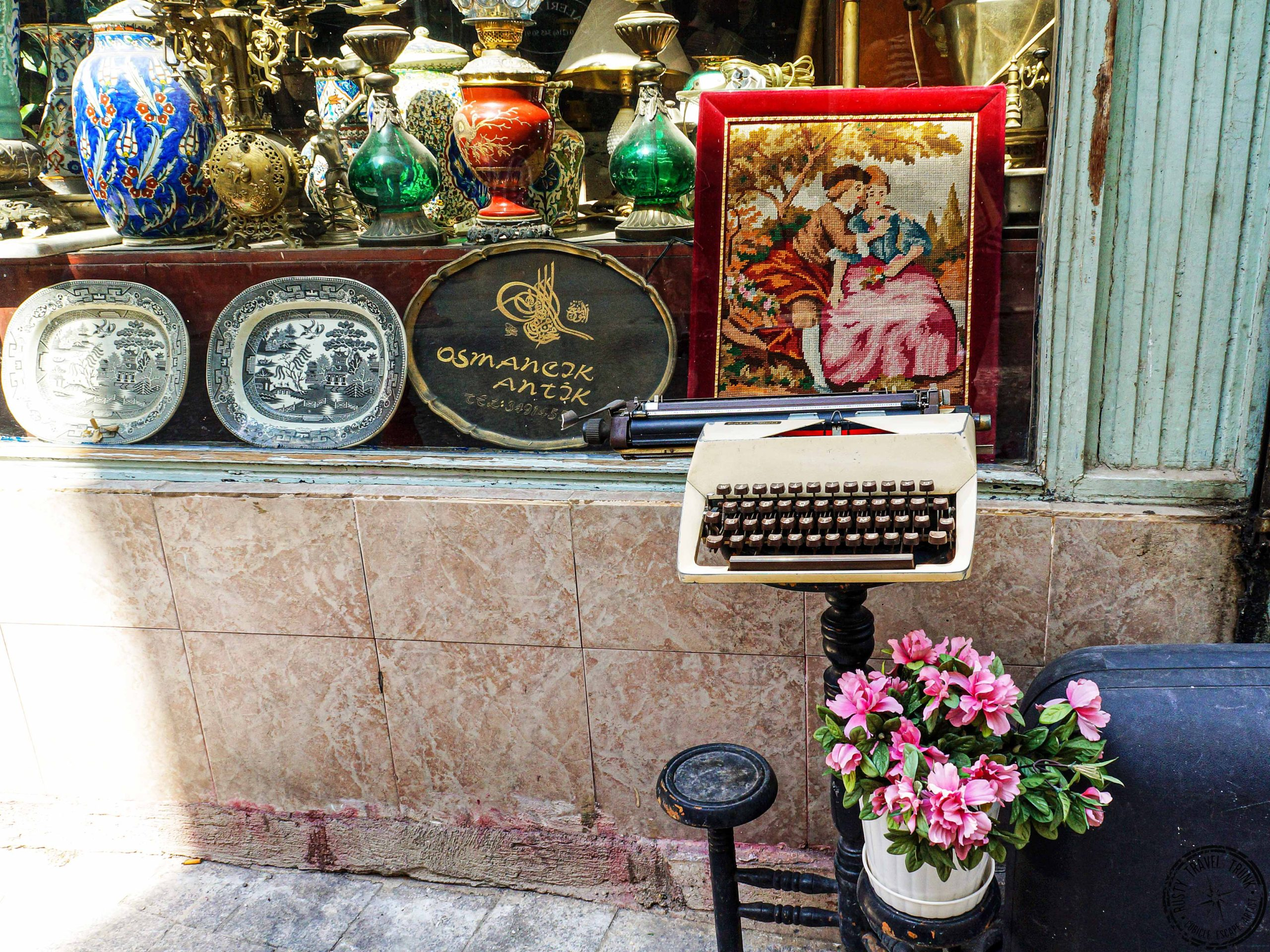 Istanbul Asian side - antiques