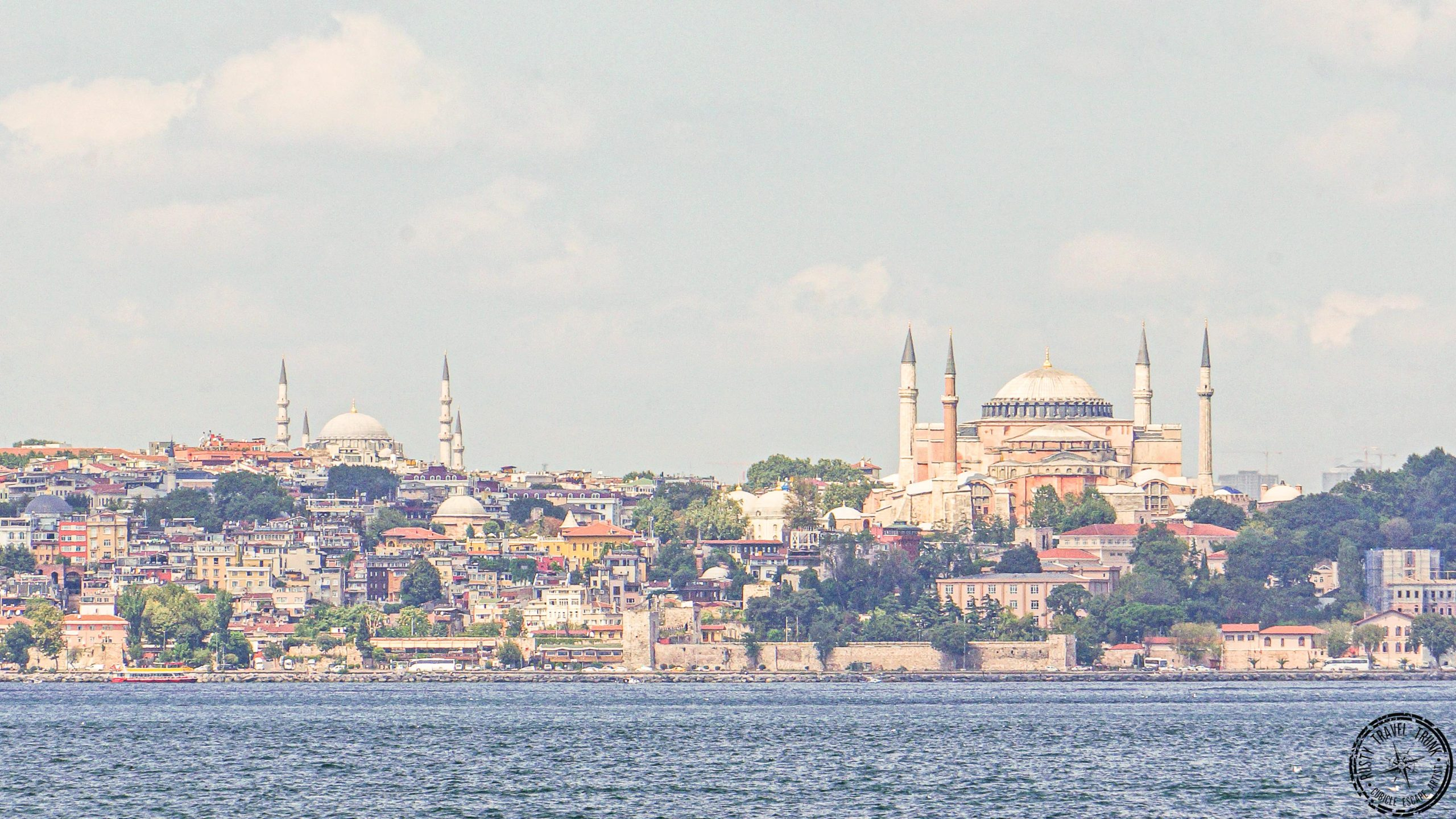 view from Istanbul Asian side - Moda