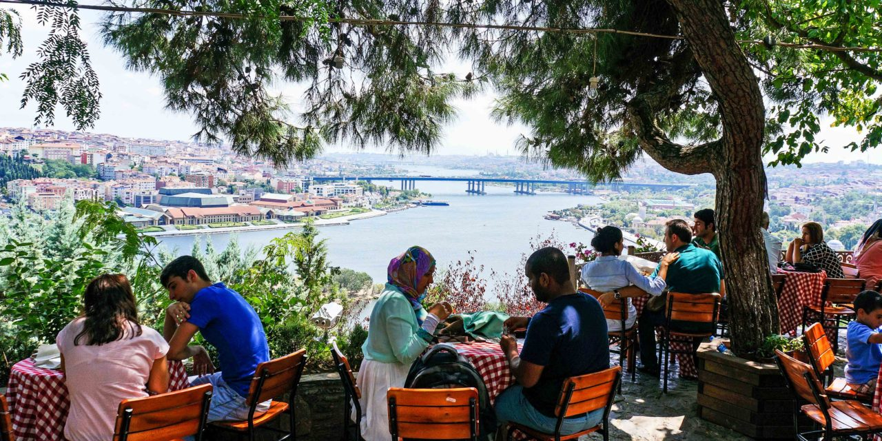 A Cafe and a Cemetery in Istanbul (Pierre Loti)