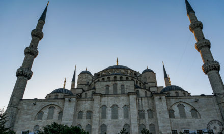 Visiting the Famous Blue Mosque in Istanbul