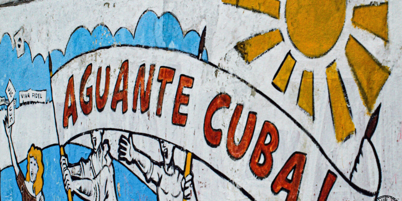 Political Slogans in Havana